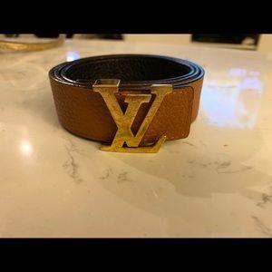 Louis Vuitton Initiales 30MM Belt - Size 75/30